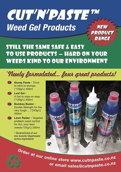 CutnPaste Weed Gels Full Product Range