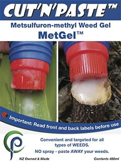 MetGel Brush-on Metsulfuron Gel Weed Control Cut'n'Paste