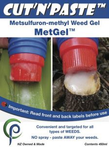 Cut'n'paste MetGel Brush-on Metsulfuron Gel Weed Control
