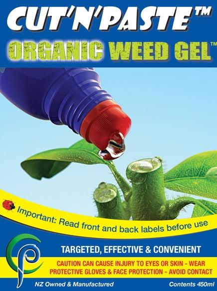 Cut'n'Paste Organic Weed Gel