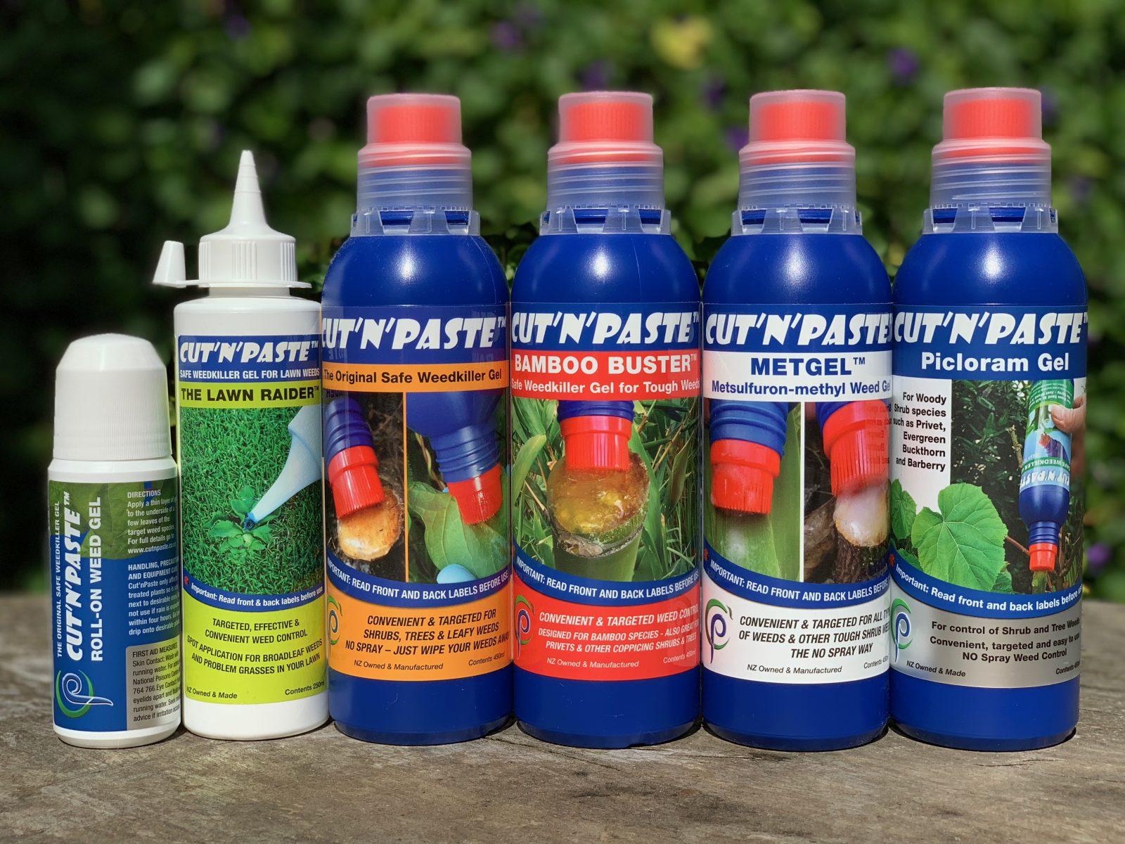 Cut'n'Paste Product Range 2018
