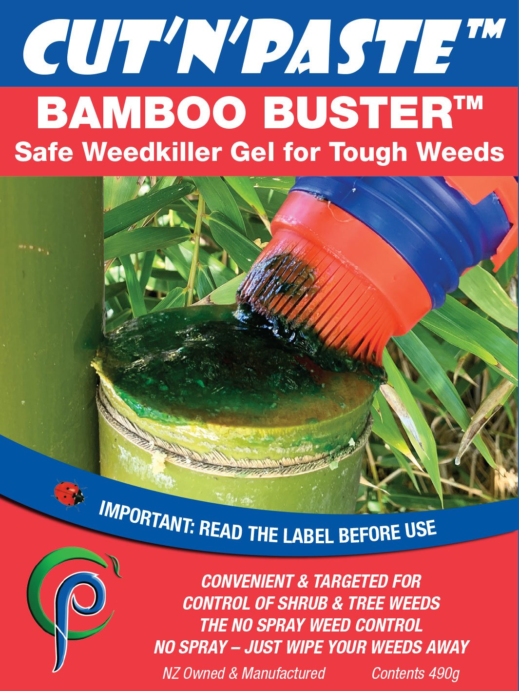 Bamboo Buster Cut'n'Paste